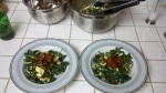 Salad for 2 with plenty more leftover!